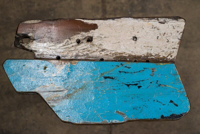 real antique wood Boatwood 9