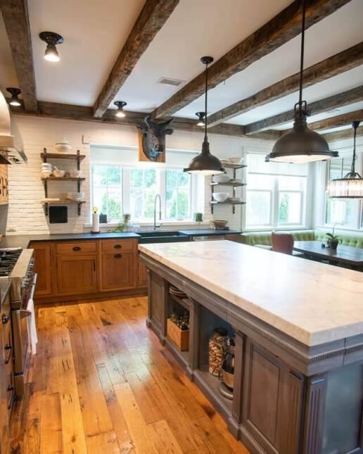 real antique wood Cerami Finals 4 social