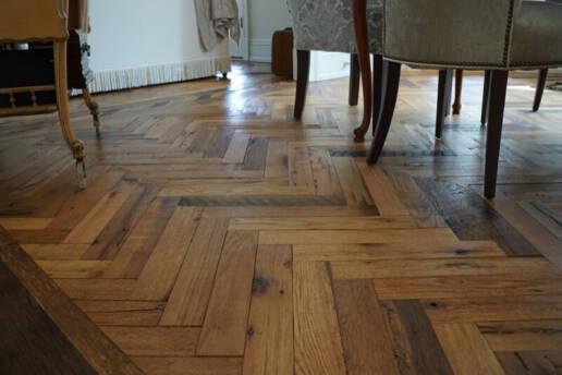 real antique wood creative flooring