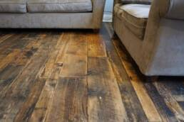 real antique wood floors