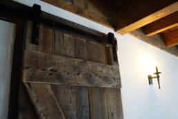real antique wood reclaimed door 2