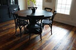 real antique wood flooring
