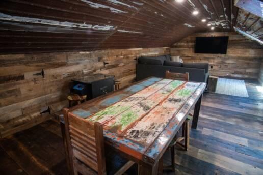 real antique wood Kayal Man cave 8
