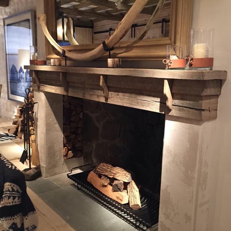 real antique wood Ralph Lauren