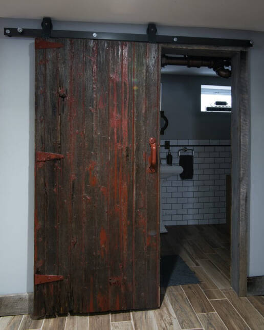 real antique wood Tedesco 9 social