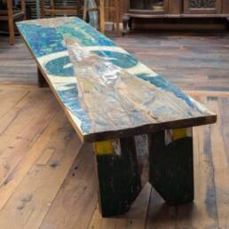 The Coastal Collection line of reclaimed furniture