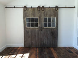 real antique wood barn doors full 8