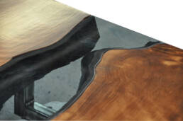 real antique wood live edge detail 1