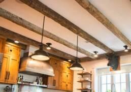 antique wood beams