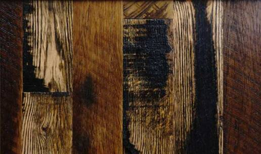 real antique wood reclaimed flooring buck skin