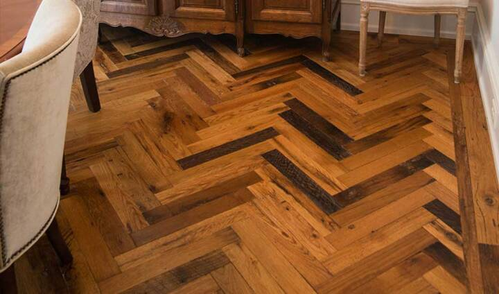 real antique wood reclaimed flooring creative