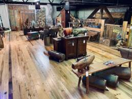 real antique wood reclaimed showroom 03