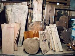 real antique wood reclaimed showroom 05