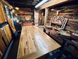 real antique wood reclaimed showroom 06