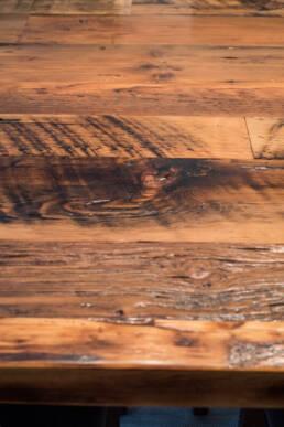 Real Antique Wood Custom Wood Table